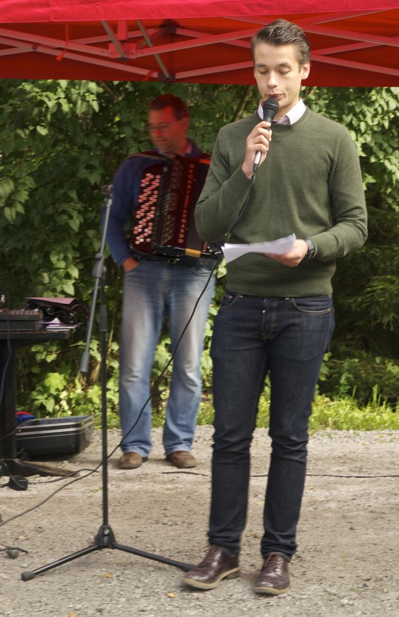 Täkterdagen öppnas av Henrik Wickström