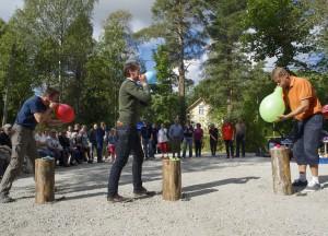 Ballongblåsning